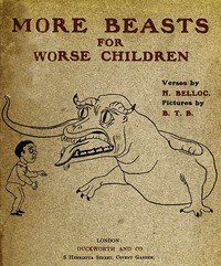 Cover of More Beasts (For Worse Children)