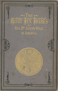 Cover of The Lost Ten Tribes, and 1882