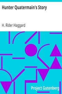 Cover of Hunter Quatermain's Story