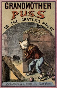 Cover of Grandmother Puss; Or, The grateful mouse