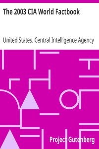 Cover of The 2003 CIA World Factbook