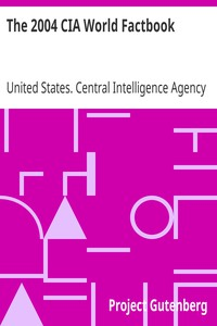 Cover of The 2004 CIA World Factbook