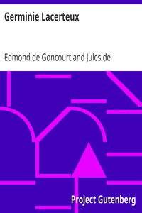 Cover of Germinie Lacerteux