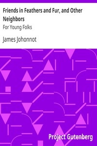 Cover of Friends in Feathers and Fur, and Other Neighbors: For Young Folks