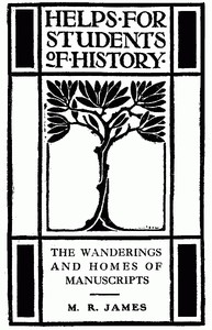 Cover of The Wanderings and Homes of Manuscripts