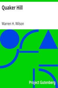 Quaker HillA Sociological Study
