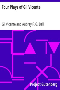 Cover of Four Plays of Gil Vicente