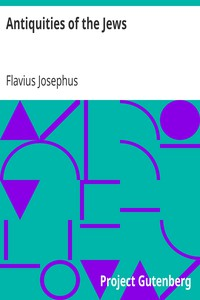 Cover of Antiquities of the Jews