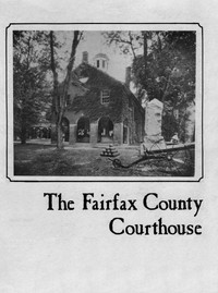 Cover of The Fairfax County Courthouse