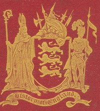 Cover of A History of England from Early Times: A Linked Index to the Project Gutenberg Editions