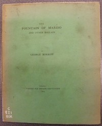 Cover of The Fountain of Maribo, and Other Ballads