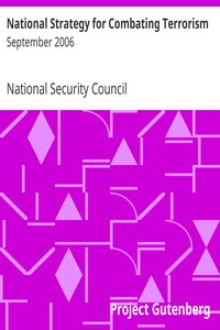 National Strategy for Combating TerrorismSeptember 2006