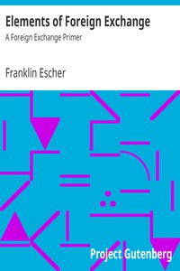 Cover of Elements of Foreign Exchange: A Foreign Exchange Primer