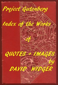 Cover of Quotes and Images: An Index of the Project Gutenberg Collection of Quotes and Images