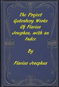 Cover of The Project Gutenberg Works of Flavius Josephus: An Index