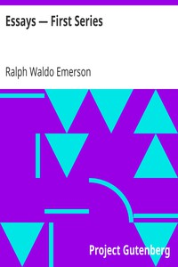 Cover of Essays — First Series