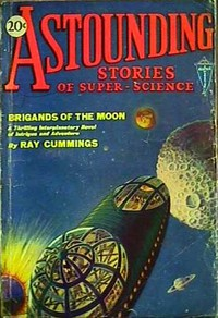 Cover of Astounding Stories of Super-Science, March 1930