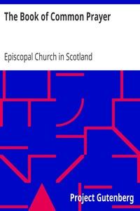 Cover of The Book of Common Prayerand The Scottish Liturgy