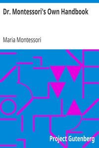 Cover of Dr. Montessori's Own Handbook