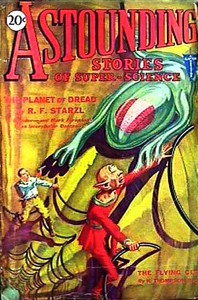 Cover of Astounding Stories of Super-Science, August 1930