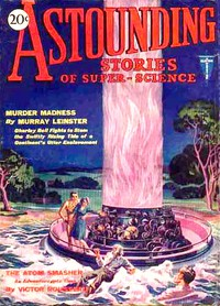 Cover of Astounding Stories of Super-Science, May, 1930