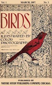 Cover of Birds, Illustrated by Color Photography, Vol. 1, No. 3 March 1897