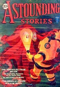 Cover of Astounding Stories, February, 1931
