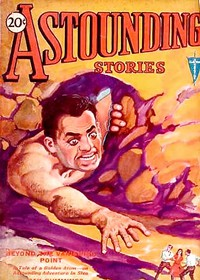 Cover of Astounding Stories, March, 1931