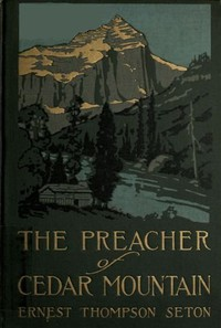 Cover of The Preacher of Cedar Mountain: A Tale of the Open Country