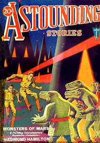 Cover of Astounding Stories,  April, 1931