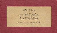 Cover of Music: An Art and a Language