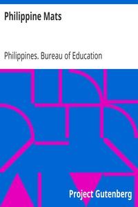 Philippine MatsPhilippine Craftsman Reprint Series No. 1