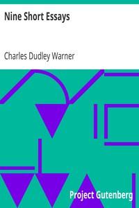 Cover of Nine Short Essays