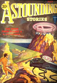 Cover of Astounding Stories, July, 1931