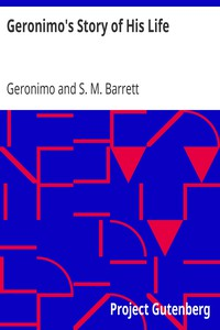 Cover of Geronimo's Story of His Life