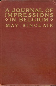 Cover of A Journal of Impressions in Belgium