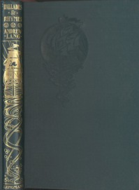 Cover of Ballades & Rhymes from Ballades in Blue China and Rhymes a la Mode