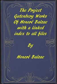 Cover of The Works of Balzac: A linked index to all Project Gutenberg editions