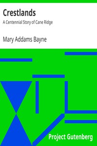 Cover of Crestlands: A Centennial Story of Cane Ridge