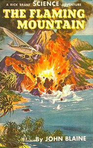 Cover of The Flaming Mountain: A Rick Brant Science-Adventure Story