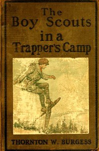 Cover of The Boy Scouts in A Trapper's Camp