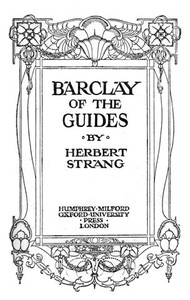 Cover of Barclay of the Guides