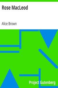 Cover of Rose MacLeod