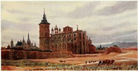 Cover of Cathedral Cities of Spain: 60 Reproductions from Original Water Colours