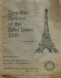 Cover of Elevator Systems of the Eiffel Tower, 1889