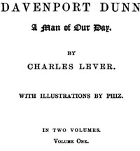 Davenport Dunn, a Man of Our Day. Volume 1 (of 2)