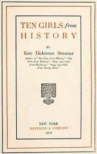 Cover of Ten Girls from History