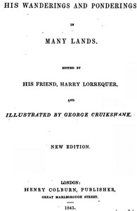 Cover of Arthur O'Leary: His Wanderings And Ponderings In Many Lands