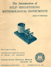 Cover of The Introduction of Self-Registering Meteorological Instruments