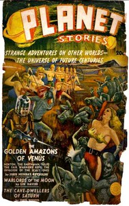 Cover of The Golden Amazons of Venus